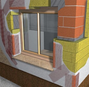 Kontaktna toplotna izolacija fasade