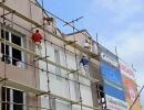 Izdelava fasade s prevleko